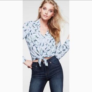 Express Original Portofino Shirt Dragonfly Small